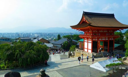 Kyoto Temple | Japan | Backpacking with Bacon