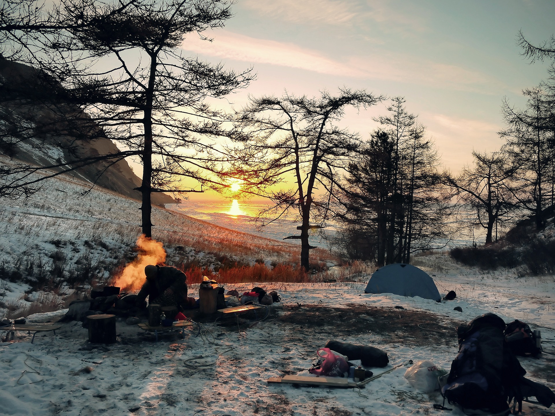 Adventure Tent | Backpacking with Bacon | Solo Travel Blog
