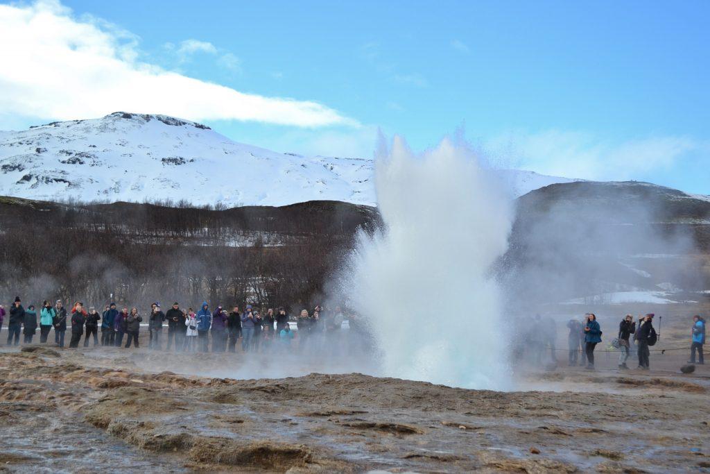 reykjavik hot geyser