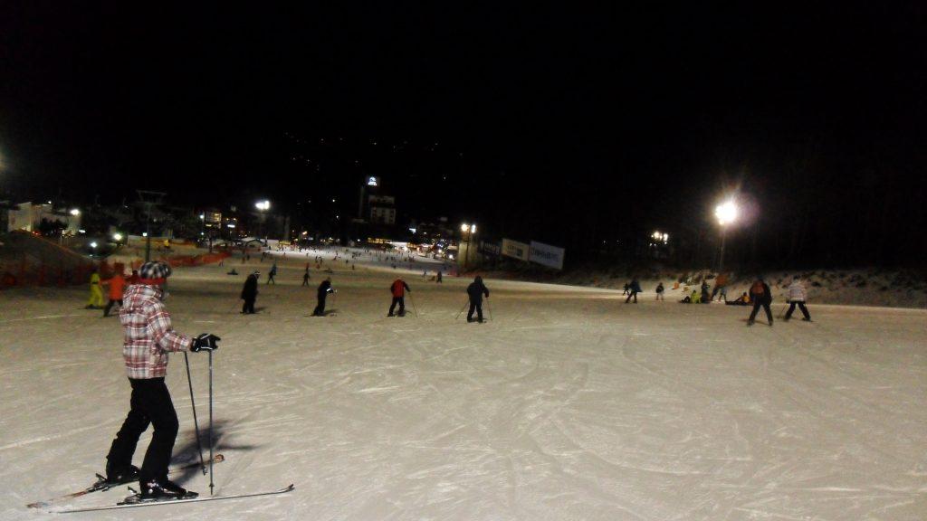 skiing korea