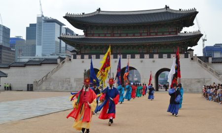 Backpacking with Bacon | Backpacking Travel Blog | Korean Temple
