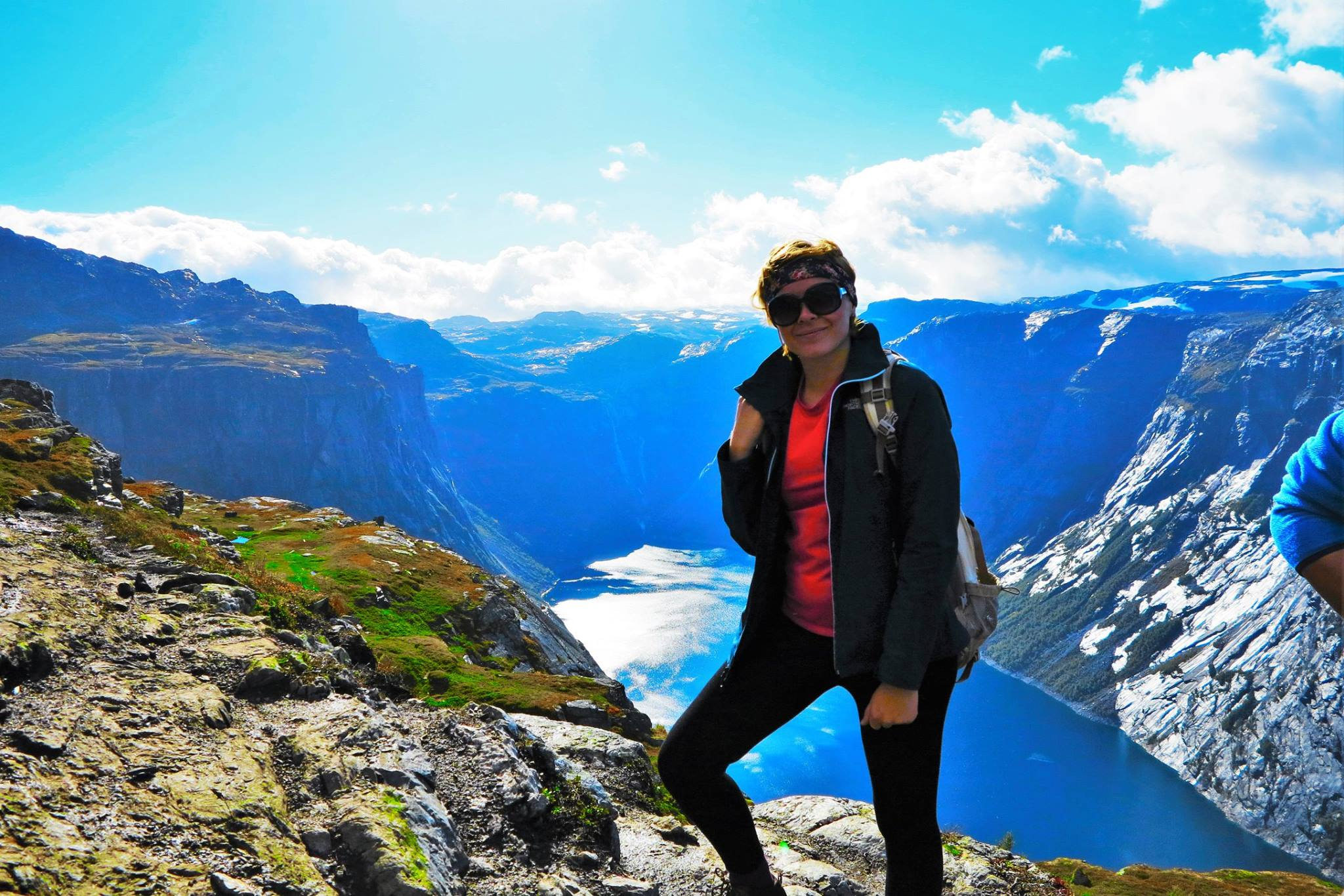 Solo Travel Blog | Backpacking with Bacon | Trolltunga Kerri