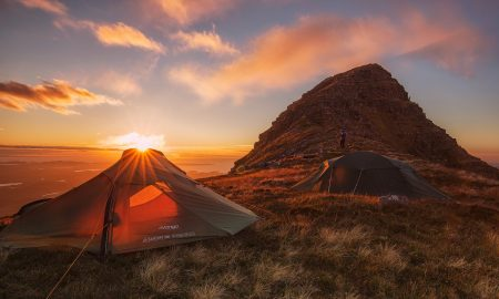 Camping Sunset | Backpacking with Bacon | Solo Travel Blog