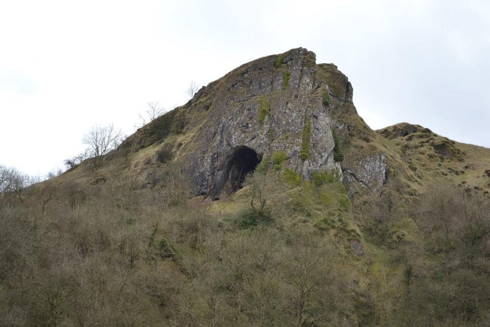 Thor's Cave View | 24 Hours in the Peak District | Backpacking with Bacon