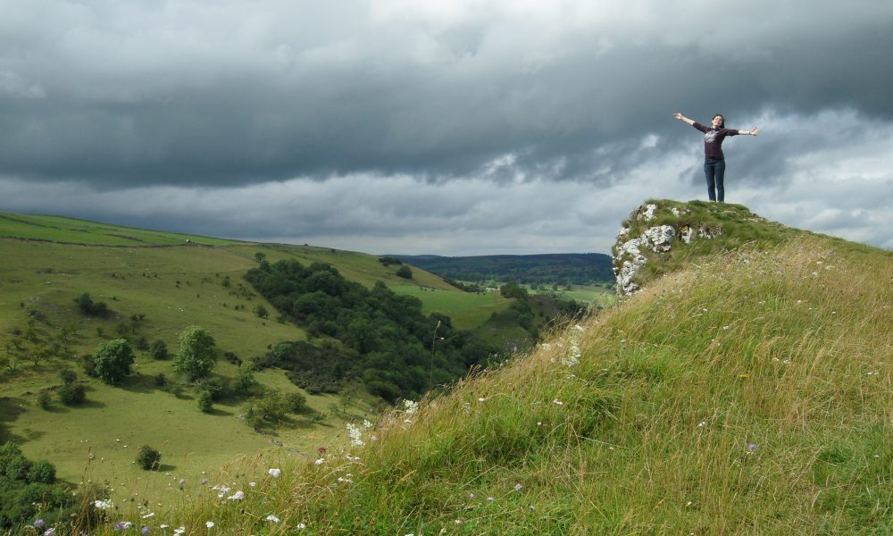Thor's Cave View | Backpacking in the Peak District | Backpacking with Bacon