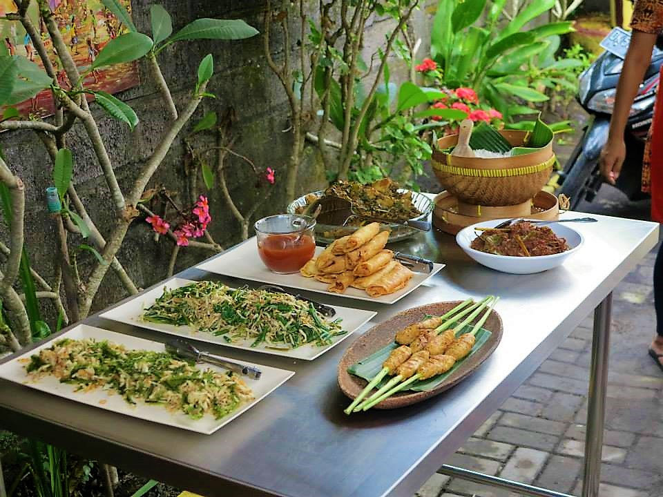 Cooking Class Bali Foods | Backpacking in Bali