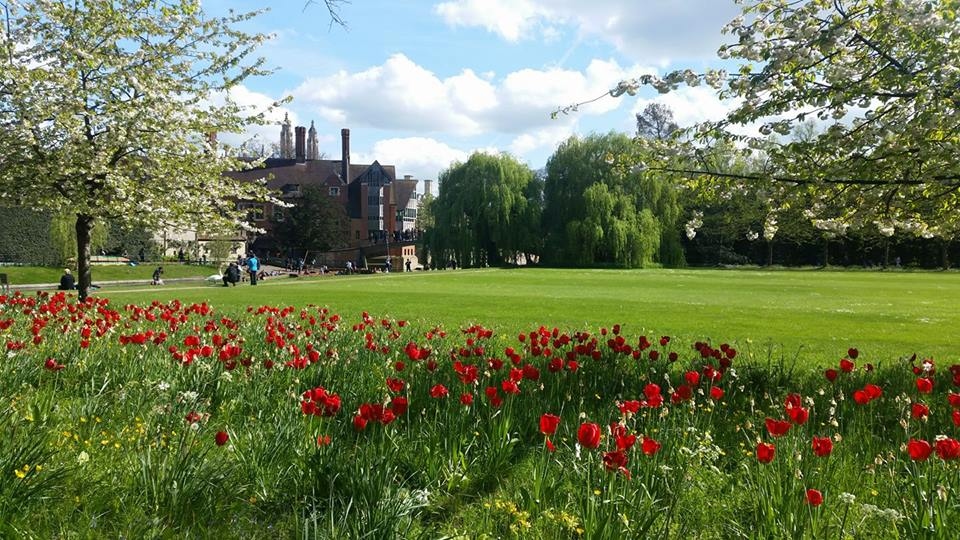College Backs | Cycling in Cambridge | Backpacking with Bacon
