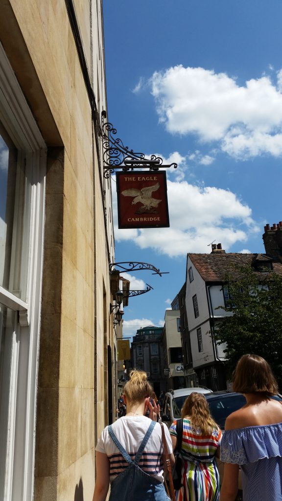 The Eagle Cambridge | Cycling in Cambridge | Backpacking with Bacon