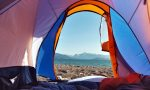View from Tent | Camping Tips Europe | Backpacking with Bacon