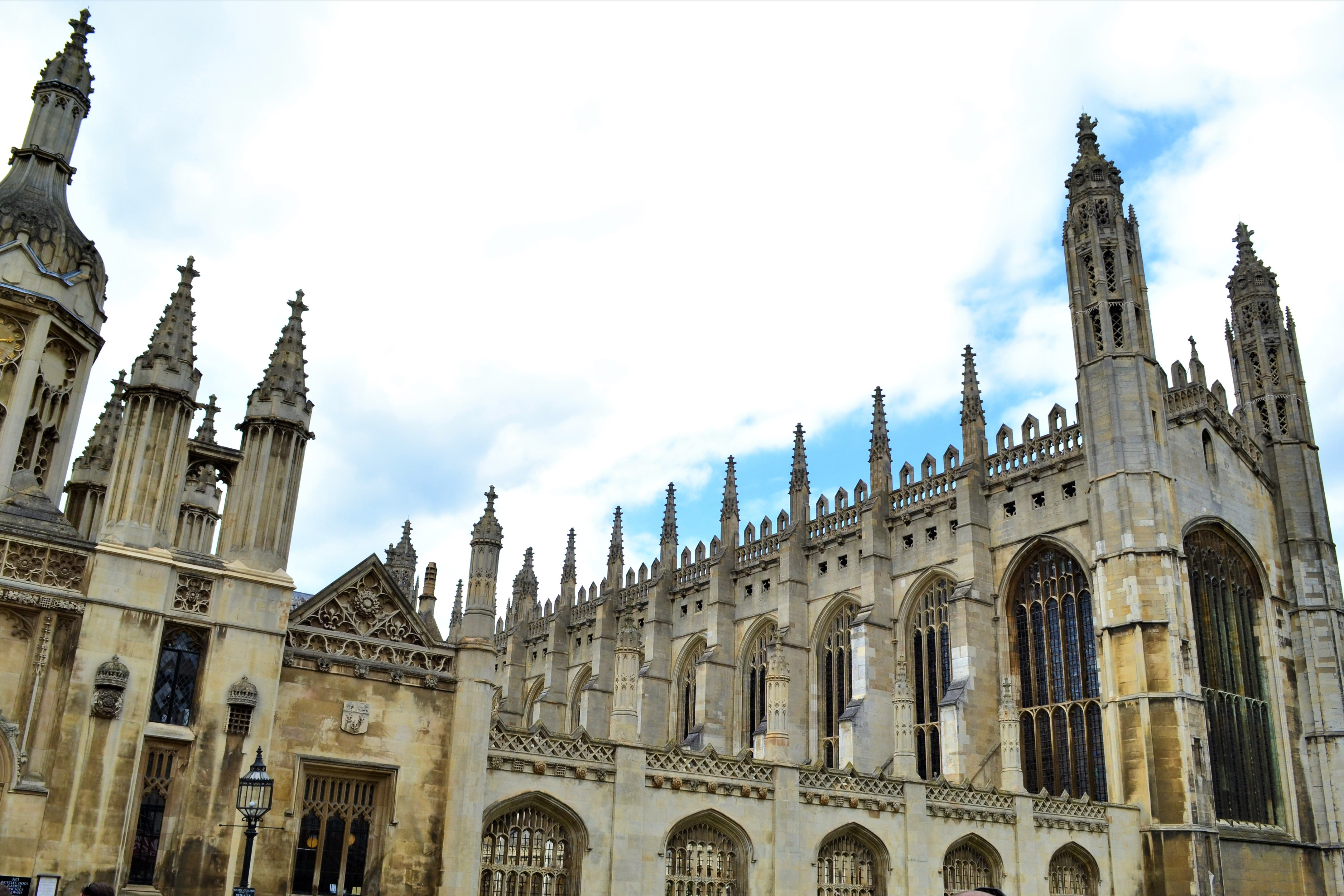 King's Panorama | Walking in Cambridge | Backpacking with Bacon