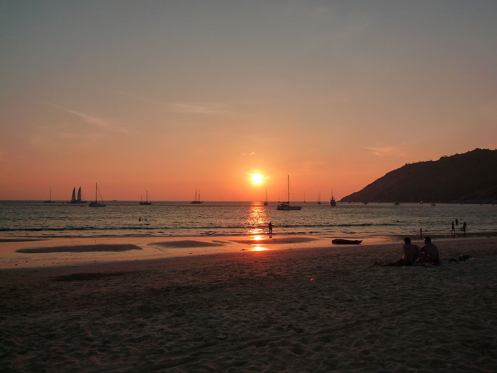 Phuket Sunset | Backpacking in Phuket | Backpacking with Bacon