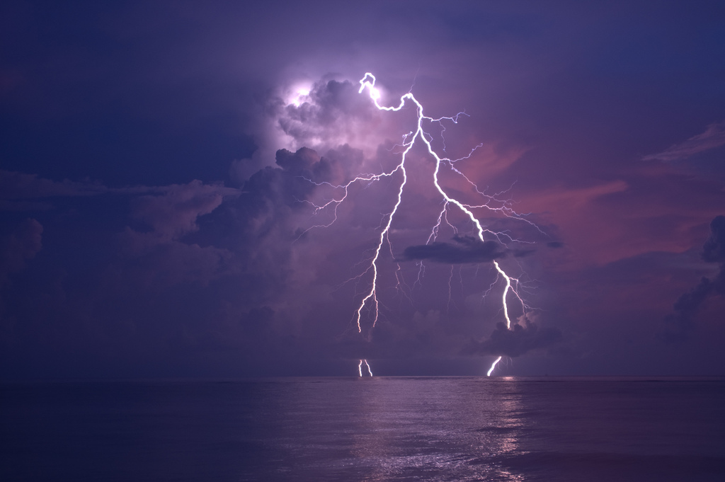 Lightning Strike | Travel in Florida | Backpacking with Bacon