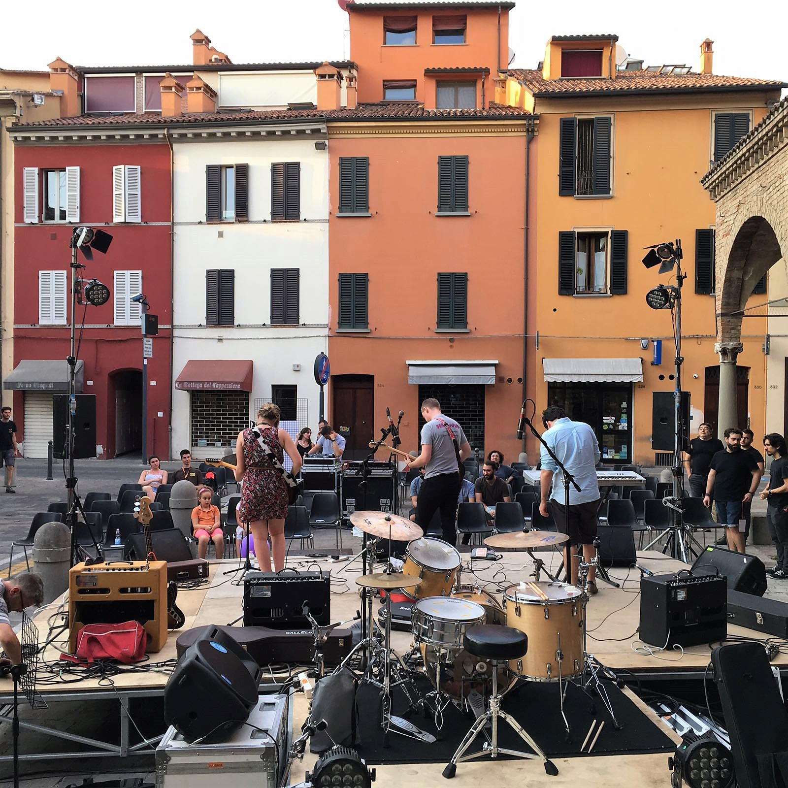 Imola Square | Imola in Musica | Backpacking with Bacon