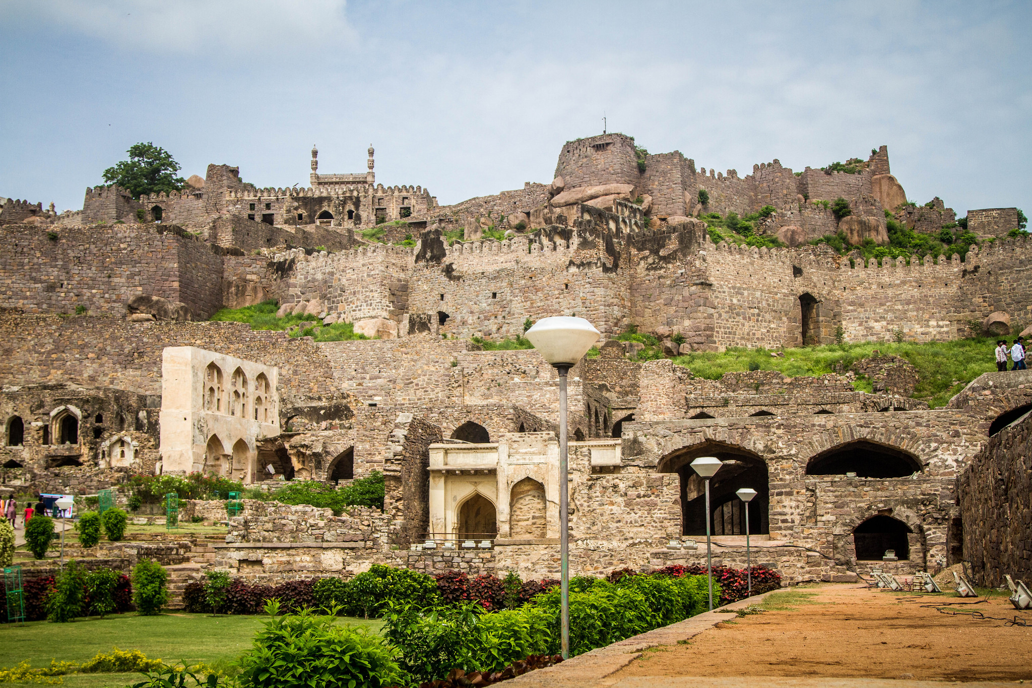 Golkonda Fort | 24 Hours in Hyderabad | Backpacking in Hyderabad
