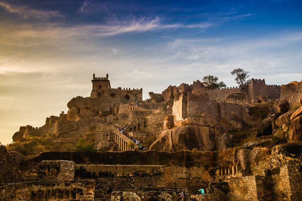 Golkonda Fort | 24 Hours in Hyderabad | Solo Travel in Hyderabad