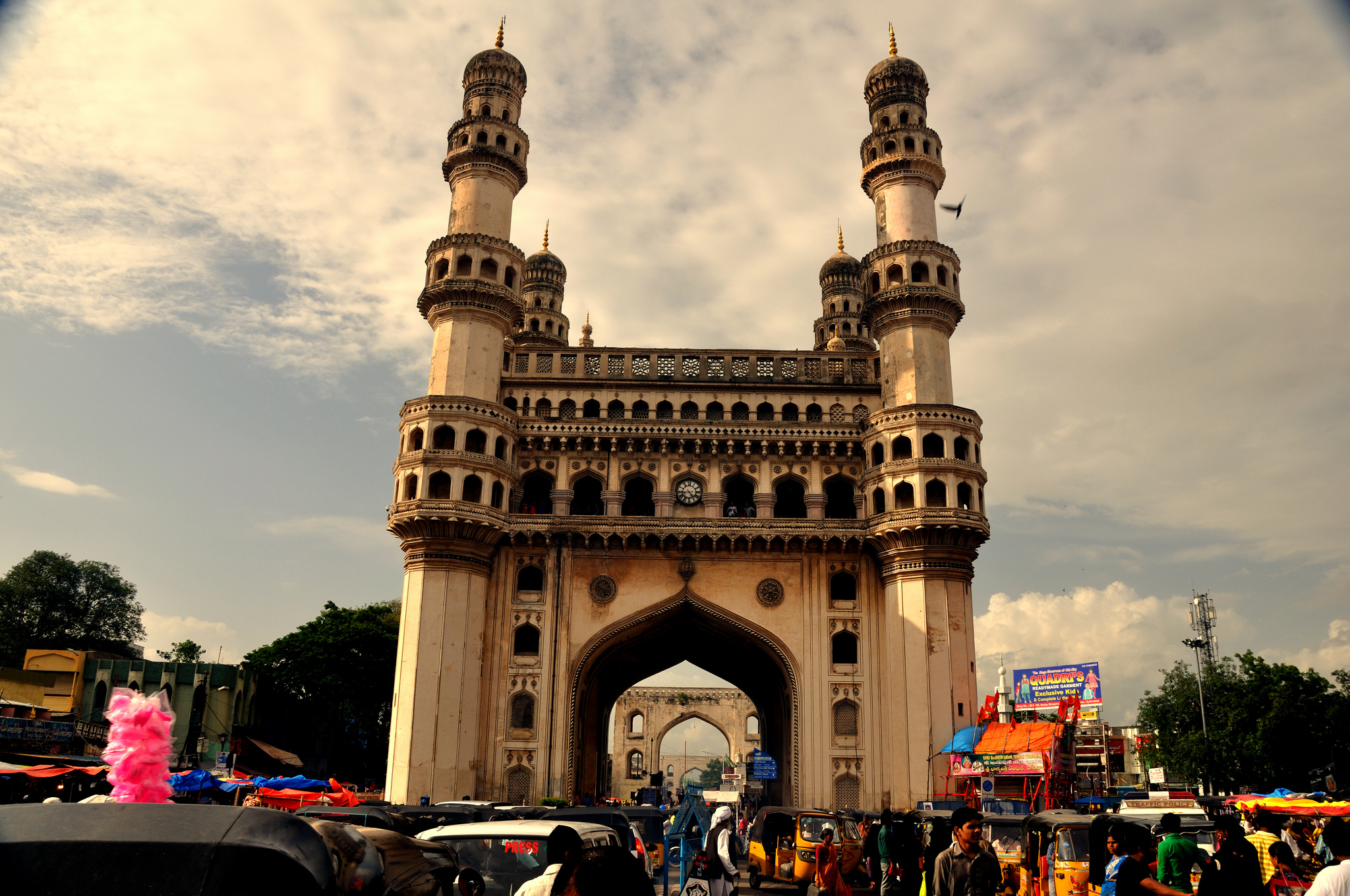 Charminar | 24 Hours in Hyderabad | Backpacking in Hyderabad