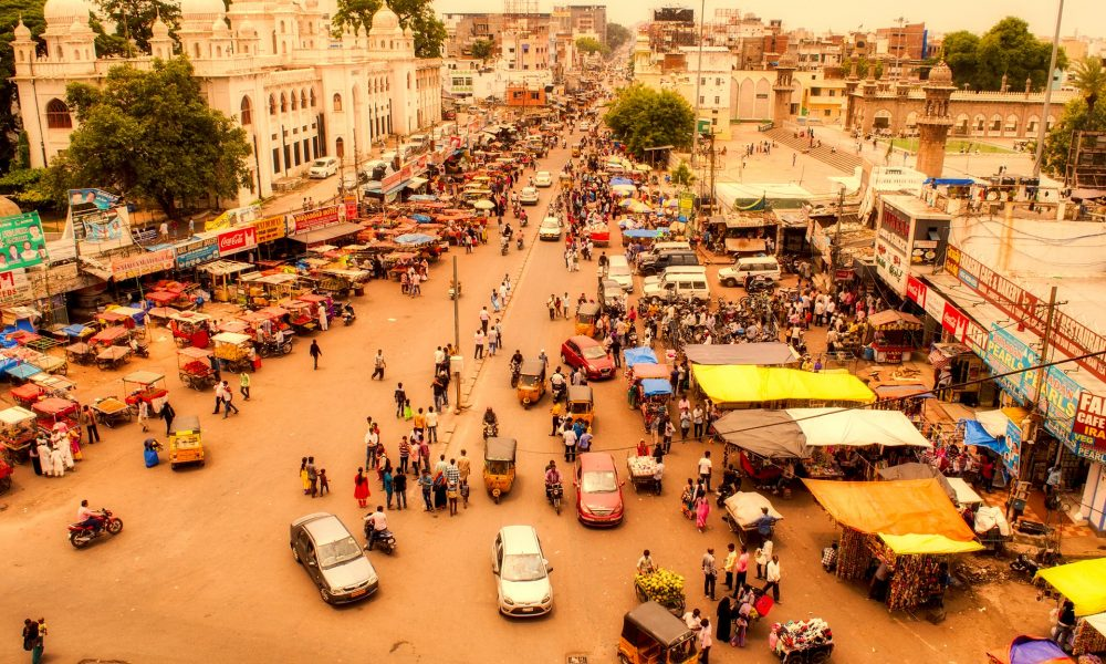 Busy Street Hyderabad | 24 Hours in Hyderabad | Solo Travel in Hyderabad