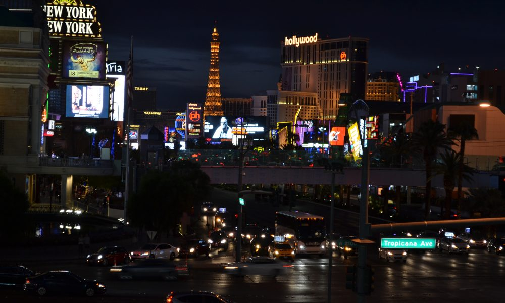 Vegas Strip | Backpacking with Bacon | Solo Travel in Vegas