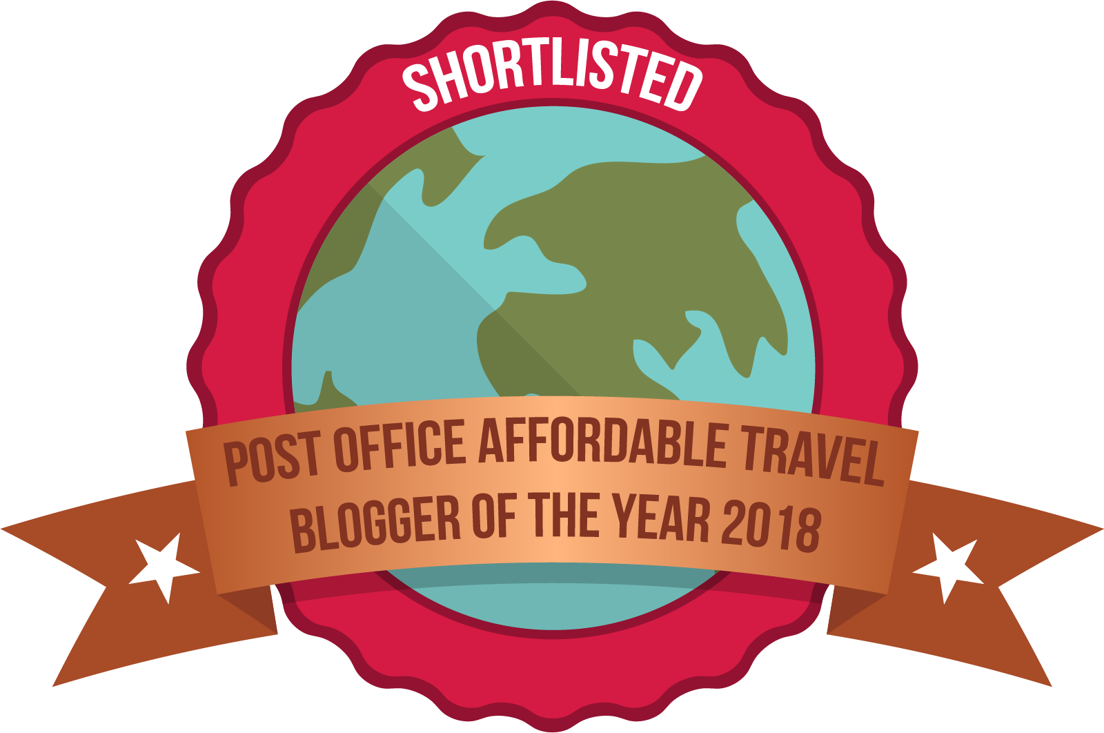 Post Office Travel Blogger Awards | Backpacking with Bacon | Solo Travel Blog