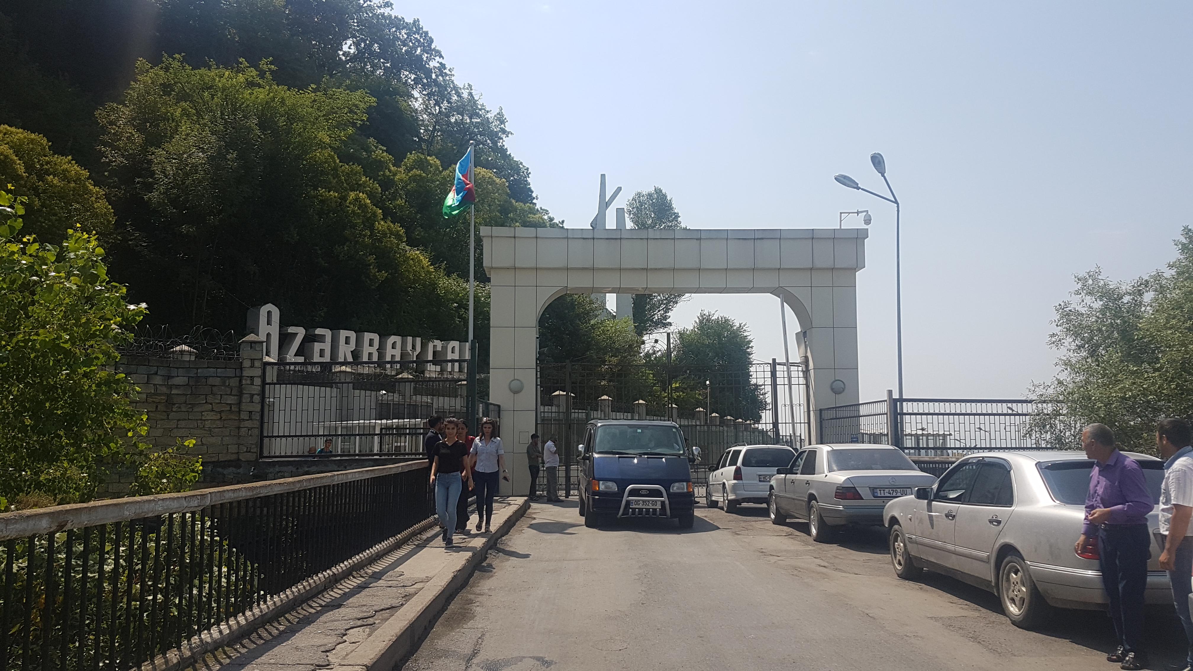 Georgia Border Crossing | How to Get From Baku to Georgia