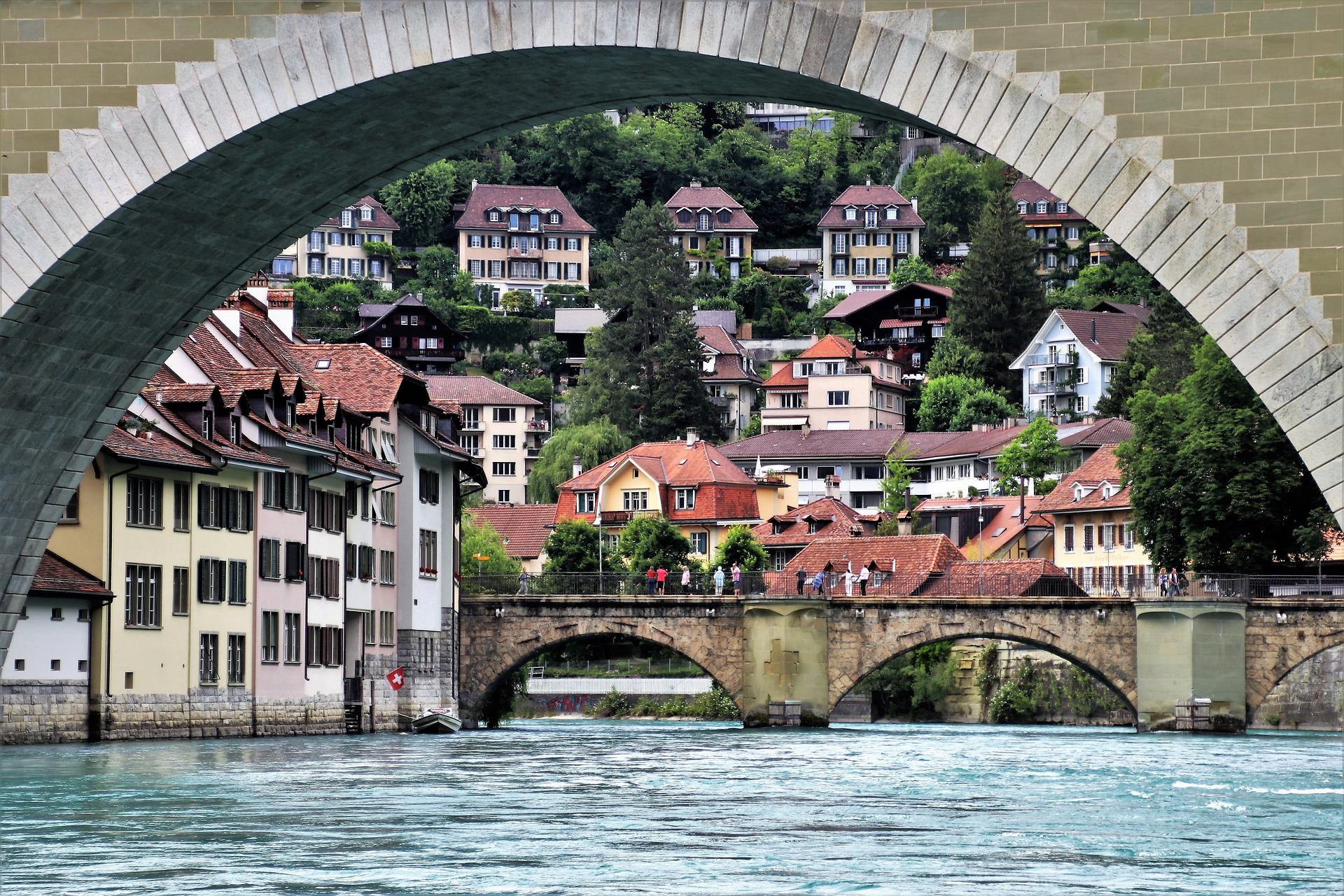 Bridge Switzerland | Backpacking with Bacon | Backpacking in Switzerland