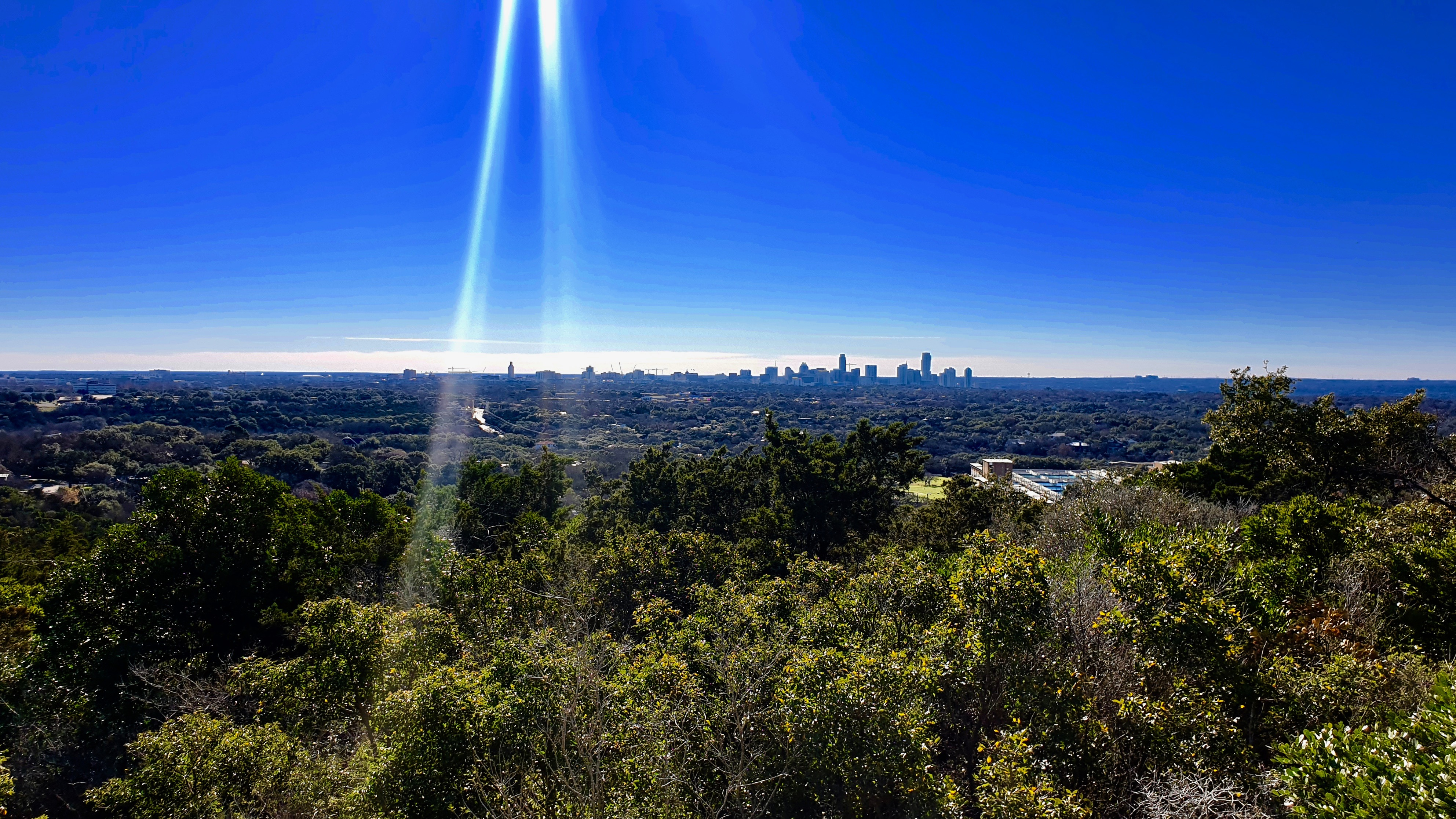 Austin Skyline | Backpacking with Bacon | Solo Travel Blog