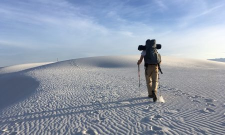Man with Hiking Poles | Backpacking with Bacon